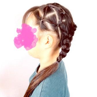 編み込みサイドおろしヘアアレンジ♡