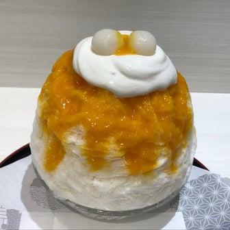 えぞうさぎでマンゴーかき氷〜日本100名城 若松城(福島県会津若松市追手町)