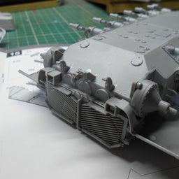 画像 アメリカ軍 M47E/M パットン 製作・12 の記事より 2つ目