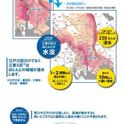 画像 【台風】江戸川区ゼロメートル地帯。今からでも出来ることを。落ち着いて行動の判断を。 の記事より 1つ目