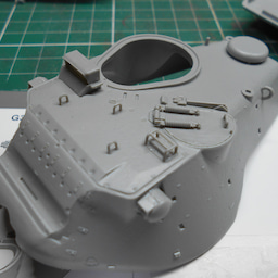 画像 アメリカ軍 M47E/M パットン 製作・13 の記事より 3つ目