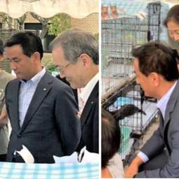 画像 Diary9/25~10/1 村岡県知事が譲渡会に・・・ の記事より 8つ目