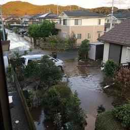 画像 台風19号、安藤家周辺、床上浸水。 の記事より 2つ目