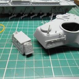 画像 アメリカ軍 M47E/M パットン 製作・14 の記事より 2つ目