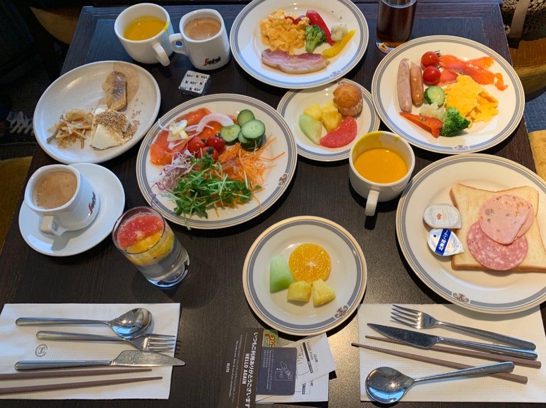 東京 ベイ グランデ 朝食 シェラトン