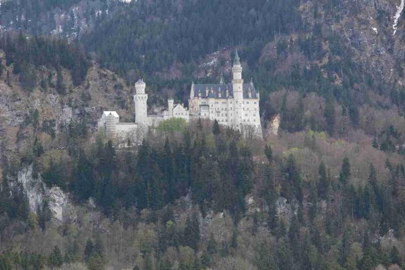 ノイシュバンシュタイン城の外観