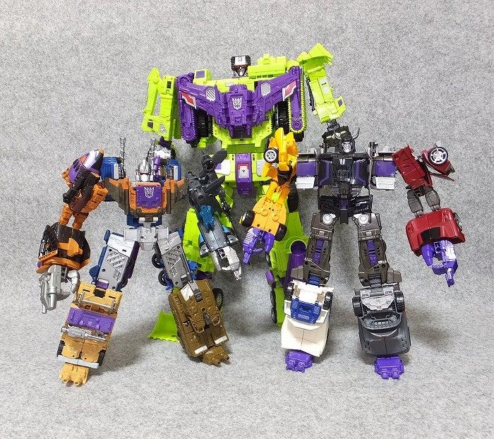 デストロン合体兵士UW版 | I love Transformers!