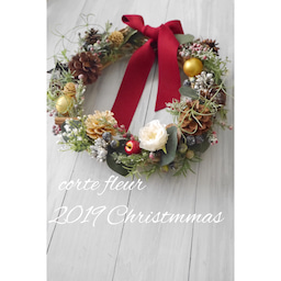画像 【募集】②2019クリスマスレッスン アーティフィシャルフラワー編 の記事より 1つ目