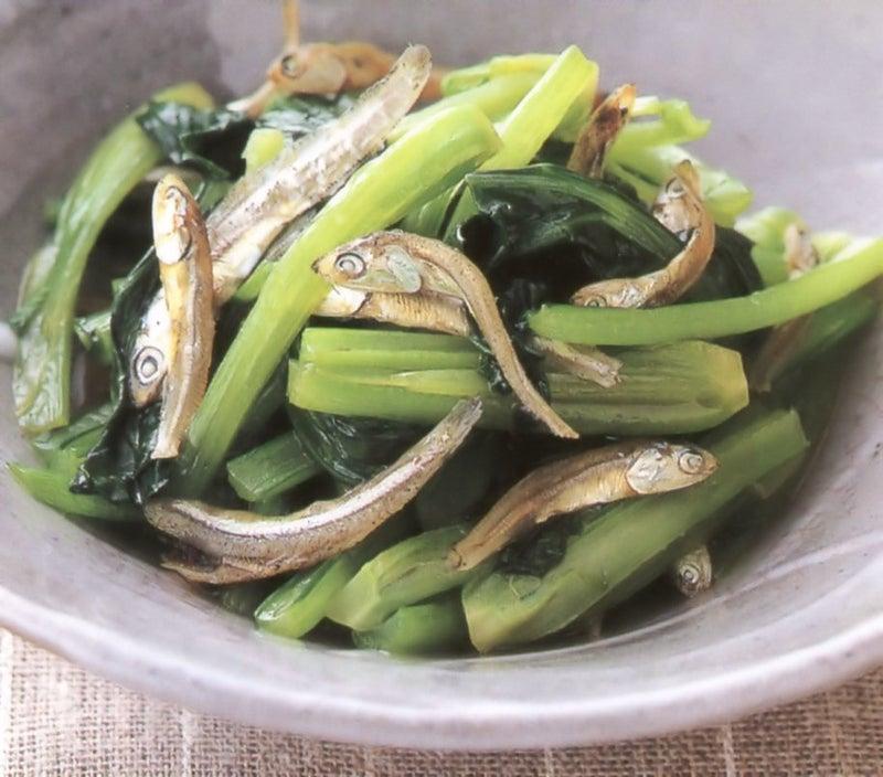 いりこと小松菜の炒め煮