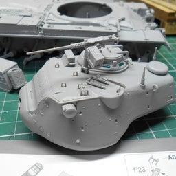 画像 アメリカ軍 M47E/M パットン 製作・15 の記事より 2つ目