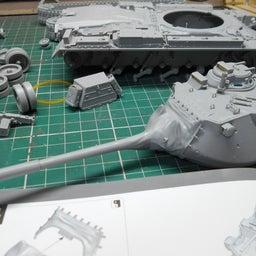 画像 アメリカ軍 M47E/M パットン 製作・15 の記事より 3つ目