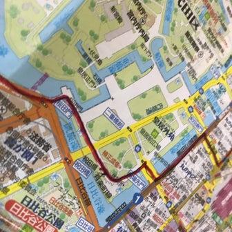 東京の地図を貼るの巻