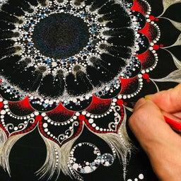 画像 人生のストーリーがオリジナルの曼荼羅アートに 一生味わえる最高の特権をあなたへ の記事より 4つ目