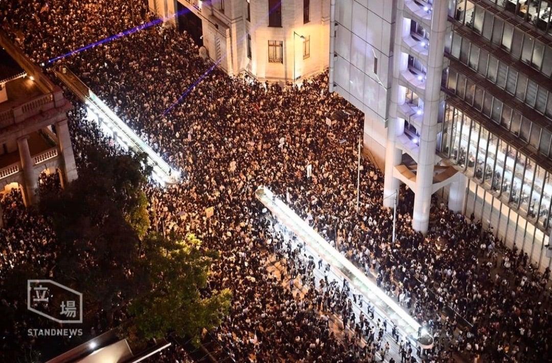 香港デモ安全