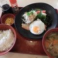 柳井のJoyfullで久し振りの朝食。