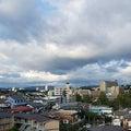 仙台の空(10/15)⛅雲が多いですが晴れてます、最高気温は19℃で平年並みの予報です