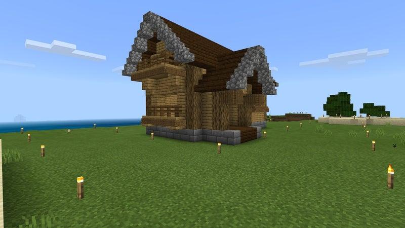 小さい家 マイクラ