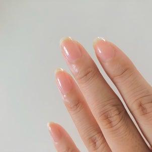 ナチュラルな美しさ〜 生爪をピカピカにする方法の画像