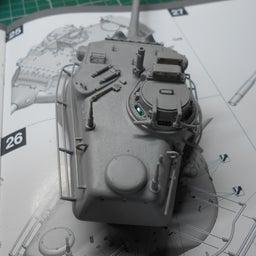 画像 アメリカ軍 M47E/M パットン 製作・16 の記事より 2つ目