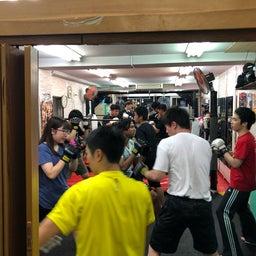 画像 初心者格闘技クラス大盛況です!! の記事より 4つ目