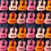ギターの弦は6本 2人で12本 みんなで200本以上の弦!の画像