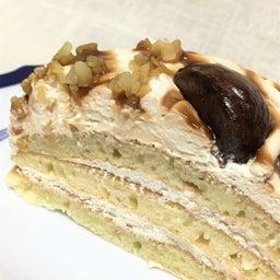 画像 モンブランのクリームパンケーキ/ローソン ウチカフェスイーツ の記事より 5つ目