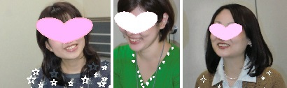 中村はるみの夫婦円満セミナーの笑顔の参加者