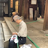 金刀比羅神社~秋の大祭準備のお手伝いに参加!~の画像