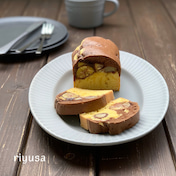 【混ぜて焼くだけ】ゴロゴロ栗のマロンパウンドケーキ