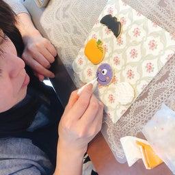 画像 【レッスンレポ】ハロウィンアイシングクッキー の記事より 3つ目