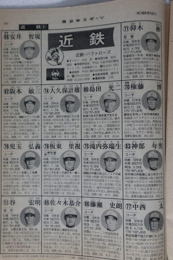今日は何の日?特別編】1988/10/19①…「10.19」決戦への道~西武 ...