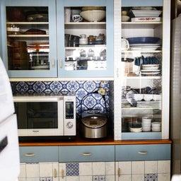 画像 食器棚の整理を兼ねて棚を増やしました の記事より 4つ目