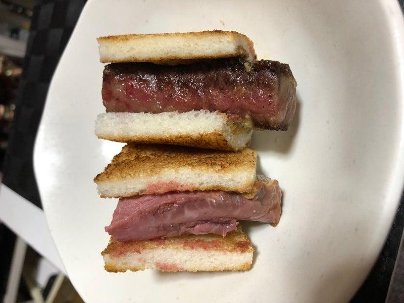 素敵 ステーキ サンド
