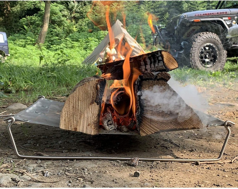 Bush Craft (ブッシュクラフト) ウルトラライト ファイヤースタンド