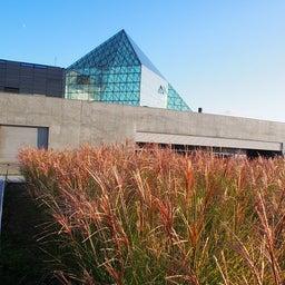 """画像 モエレ沼公園を象徴するモニュメント、ガラスのピラミッド """"HIDAMARI""""へ の記事より 2つ目"""