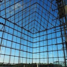 """画像 モエレ沼公園を象徴するモニュメント、ガラスのピラミッド """"HIDAMARI""""へ の記事より 8つ目"""