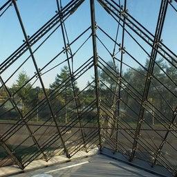"""画像 モエレ沼公園を象徴するモニュメント、ガラスのピラミッド """"HIDAMARI""""へ の記事より 6つ目"""