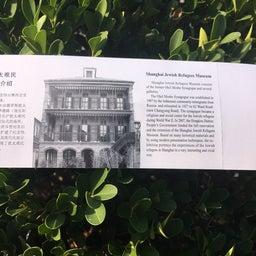 画像 上海ユダヤ難民紀念館 の記事より 6つ目