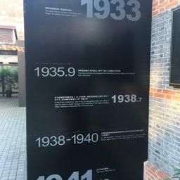 画像 上海ユダヤ難民紀念館 の記事より 21つ目