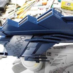 画像 バンダイ・アンドロメダ3番艦・アポロノーム・製作記ー2- の記事より 4つ目
