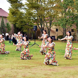 画像 関西学院大学三田キャンパスの大学祭でフラサークルのステージを取材! の記事より 12つ目