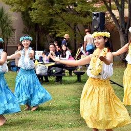 画像 関西学院大学三田キャンパスの大学祭でフラサークルのステージを取材! の記事より 11つ目