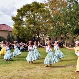 画像 関西学院大学三田キャンパスの大学祭でフラサークルのステージを取材! の記事より 6つ目