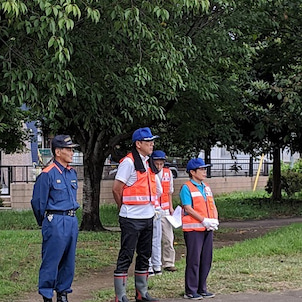地域防災・防火訓練の画像