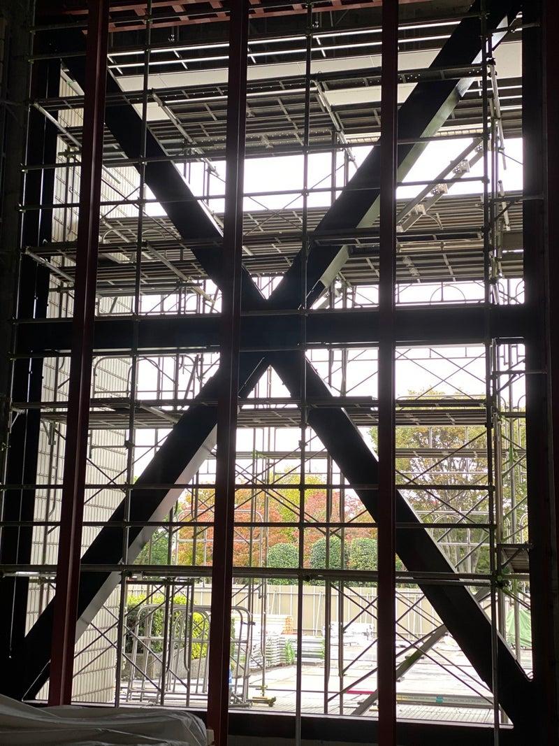 「伊勢崎市文化会館長寿命化改修工事」の現場視察・「令和2年度の予算要望書」提出