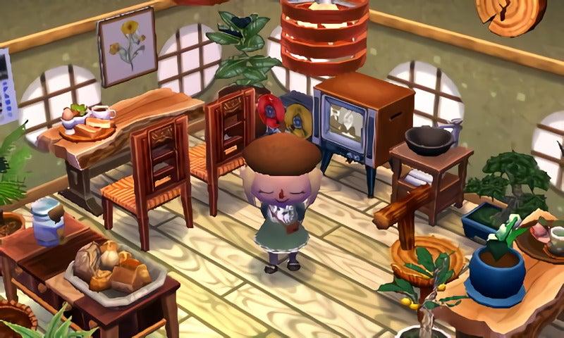 とび森喫茶店
