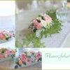 結婚披露宴テーブル装花☆の画像
