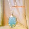 ファッションのワンポイントに♪天然石のネックレス届いています♪の画像