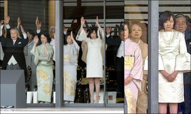 昭恵夫人即位の礼服装