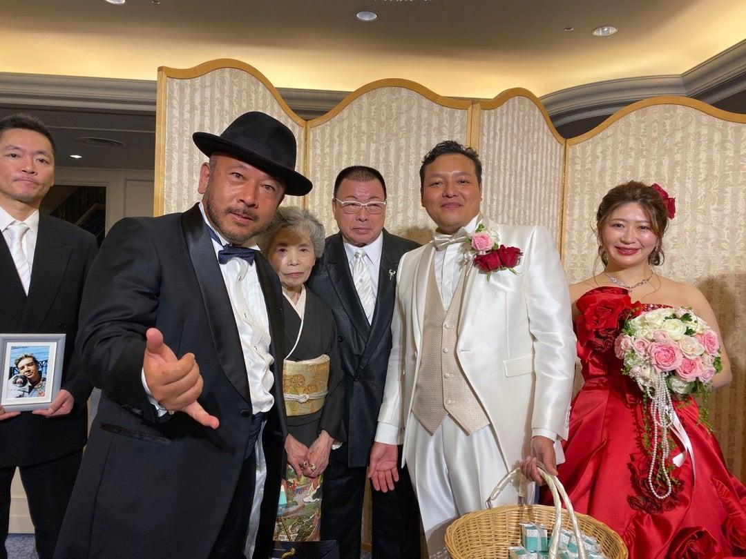 安岡力斗結婚式 素晴らしい感動の結婚式でした              七福神 長谷川毅のブログ